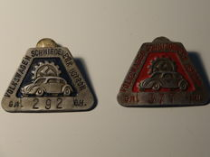 Car badge - VW forging mill Ustron 292 and 377