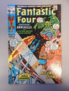 Marvel Comics - Fantastic Four #109 - 1x sc - (1971)