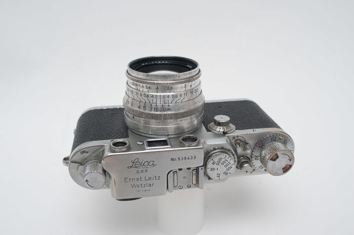 Leitz Wetzlar DRP Leica 111f body from 1950 with USSR