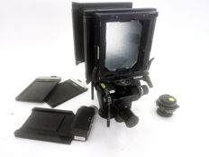 Sinar F device (4x5) + accessories + 180 mm Apo-Sironar-N