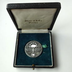 Medal for the 75 rally in Leipzig at the 22.10.1937