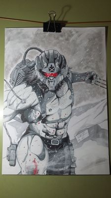 Weapon X - Original Artwork by Raul Lara