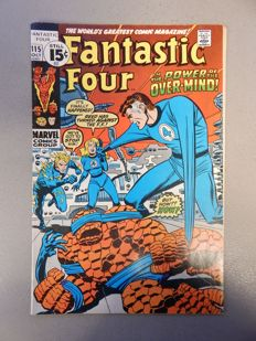 Marvel Comics - Fantastic Four #115 - 1x sc - (1971)