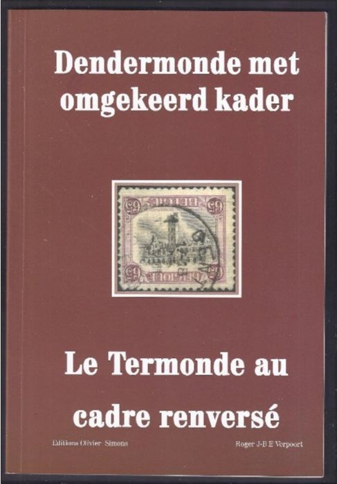 "Study - Book ""Inverted Dendermonde"" by Roger Verpoort with a page in French and Dutch"