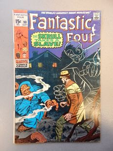 Marvel Comics - Fantastic Four #90 - 1x sc - (1969)