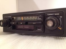 Philips 22AC660 classic car radio from the 1970s/1980s, Opel, Ford, Mercedes, Volkswagen.