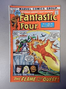 Marvel Comics - Fantastic Four #117 - 1x sc - (1971)