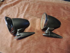 Pairs of shell mirrors - 70s - Ford Capri or other models