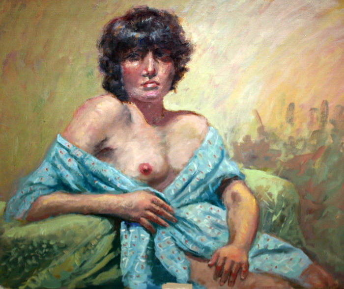 Spanish school (2nd half of the 20th century) - Retrato femenino