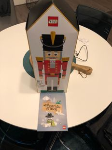 LEGO Employee Gift - 4002017 - Nutcracker with card