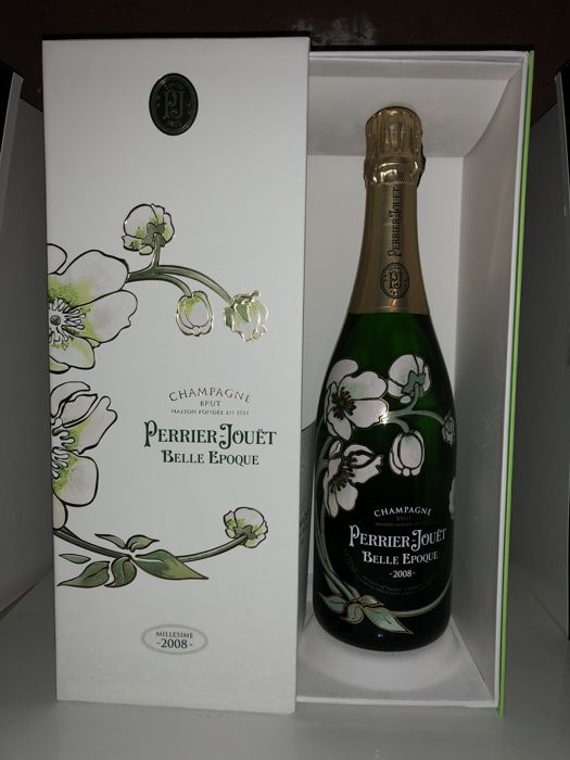 2008 Perrier-Jouet Belle Epoque Brut Millesime, Champagne - 1 bottle (75cl)