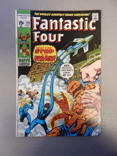 Marvel Comics - Fantastic Four #114 - 1x sc - (1971)