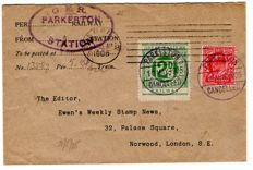 Great Britain 1905 - Railway Essex Cover