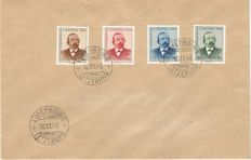 "Luxembourg 1948/1953 - Collection of 6 First Day Covers ""Cartitas"""