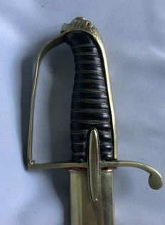 Hussars of Cavalry sabre, from Napoleonic period, late 18th century