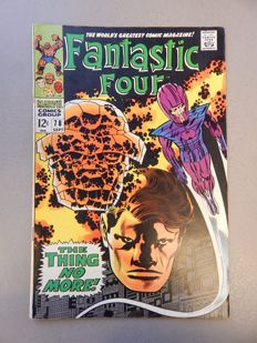Marvel Comics - Fantastic Four #78 - 1x sc - (1968)