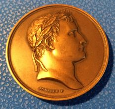 France - 'Napoleon Bonaparte' medal - first distribution of the Legion of Honour, 1804 op. Andrieu - bronze