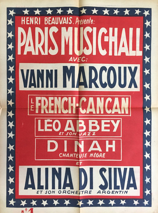 Anonymous - Paris Music-Hall, Le French Can-Can (Vanni Marcoux, Alina Di Silva) - Circa 1920