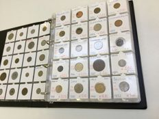 World - Lot of all different coins in album (440 pcs)