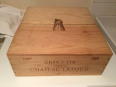 2008 Chateau Latour, Pauillac - 3 magnums (150cl) in OWC