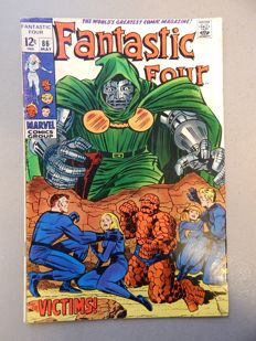 Marvel Comics - Fantastic Four #86 - 1x sc - (1969)