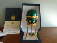 Fabergé Imperial egg  - private collection, 24k gold finished  + COA GALICIA galicia