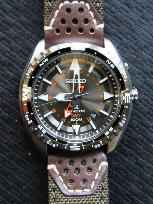Seiko Prospex GMT Kinetic SUN061P - Catawiki 4ecc79e4e