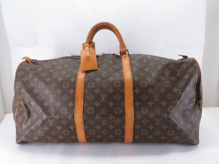 louis vuitton monogram keepall 60 travel bag reisetasche catawiki. Black Bedroom Furniture Sets. Home Design Ideas
