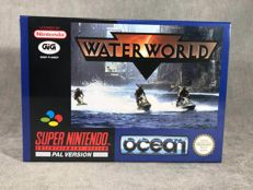 Súper Nintendo Game - Water World - PAL / EUR - Text on screen in English