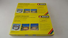Noch H0 - 53001/53101 - Helix, Spiral track, complete construction set - 1-track with extra assembly construction set