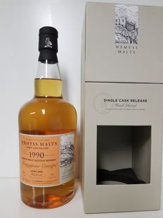 Bladnoch 26 years 1990 Frangipane Canape Wemyss Single Cask