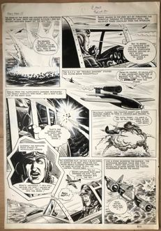 Colquhoun, Joe - Original page - Paddy Payne, warrior of the skies - [late 1950s / early 1960s]