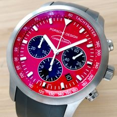 Porsche Design Red Limited Edition Ref.  PTC 911  Chronograph - Mens watch