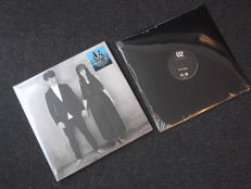"U2 Limited RECORD STORE DAY - The Blackout 12""- & - Songs of Experience - 180 gram Double Album on Translucent Cyan Blue Vinyl"