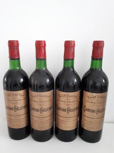1974 Chateau Bellevue, Saint Emilion Grand Cru Classé - 4 bottles