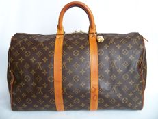 Louis Vuitton - Keepall 45 + LV padlock (322) with key -*No Minimum Price*