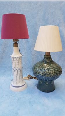 Lladró - Lot with 2 vintage table lamps