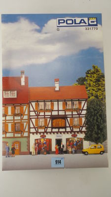 Gauge G - Pola - 331770 - Construction kit Half-timbered House I with shop