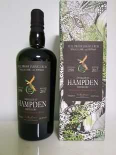 Hampden 19 years old The Wild Parrot 2017 Bottled By LMDW