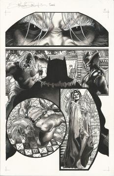 "Simone Bianchi - Original Art Page - Wolverine no. 52 - Page 5 ""Wolverine Evolution Part III"" (2007)"