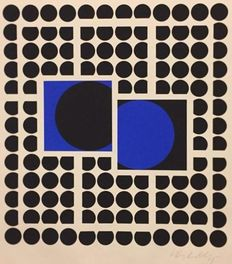 Victor Vasarely - Bellatrix