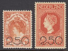 The Netherlands 1920 - Clearance issue - NVPH 104/105