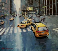 Adam Wajerczyk - New York taxi