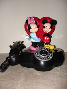 Disney, Walt - Animated, talking telephone Superfone Holland - Mickey and Minnie Mouse (1980s/90s)