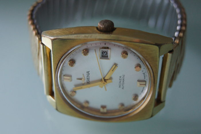 Dugena Monza Vintage Automatic men's watch around 1968 ...