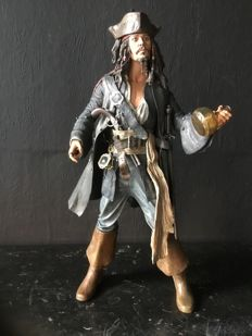 Jack Sparrow talking articulated doll (Serious face version)