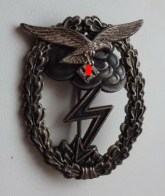 Ground assault badge of the air force 1st Level (without number)