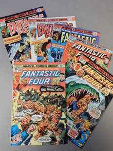Marvel Comics - Fantastic Four #157 to 174 - 18x sc - (1975-1976)