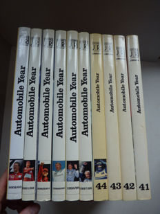 Automobile Year - 10 Volumes 1993/94 to 2002/03