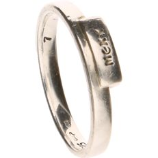925 silver ring from the brand MEXX - Ring size: 16.75 mm